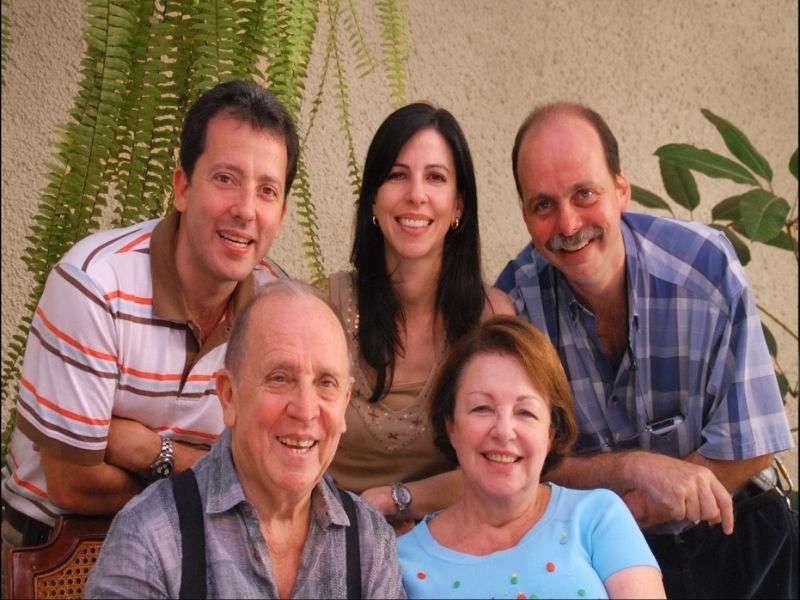 Grupo familiar de personas adulto mayor familia krivoy
