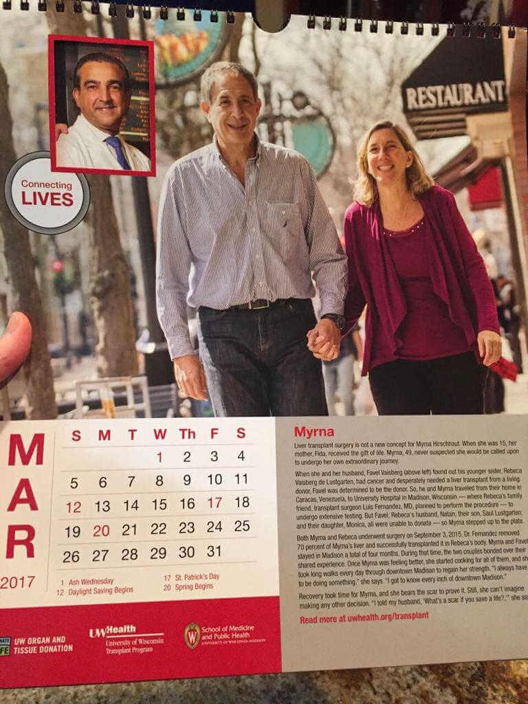 foto del calendario de myrna